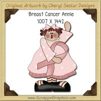 Breast Cancer Annie Single Graphics Clip Art Download