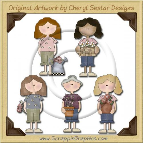 Mom & Grandma Graphics Clip Art Download