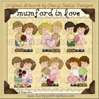 Mumford In Love Limited Pro Clip Art Graphics