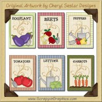 Seed Packets Collection Graphics Clip Art Download