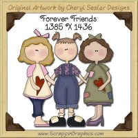 Forever Friends Single Graphics Clip Art Download