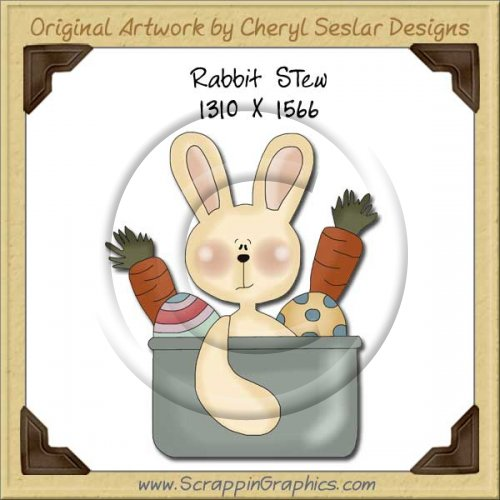 Rabbit Stew Single Graphics Clip Art Download