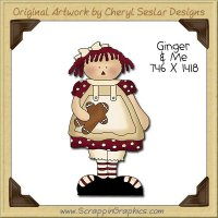 Ginger & Me Single Clip Art Graphic Download