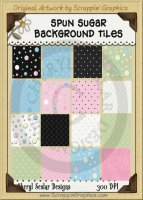Spun Sugar Background Tiles Clip Art Graphics