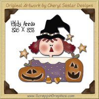 Hildy Annie Single Graphics Clip Art Download