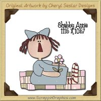 Shabby Annie Single Graphics Clip Art Download