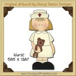 Nurse Single Graphics Clip Art Download